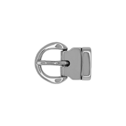 Boucle 20 mm Roma argent
