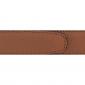 Cuir 30 mm grainé cognac