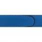 Cuir 30 mm souple bleu ciel