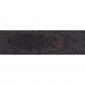 Cuir 30 mm façon autruche marron