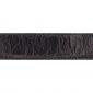Cuir 30 mm façon croco marron