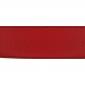 Cuir 40 mm grainé rouge