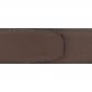 Cuir 40 mm grainé marron clair