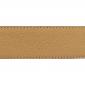 Cuir 40 mm grainé beige