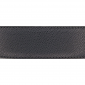 Cuir 40 mm grainé noir