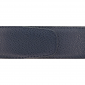 Cuir 40 mm grainé bleu marine