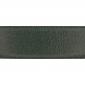 Cuir 40 mm grainé vert foncé