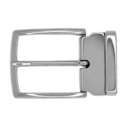 Boucle 40 mm Milano argent