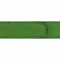 Ceinture cuir grainé vert pomme 30 mm - Porto-fino canon fusil