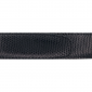 Ceinture cuir façon lézard noir 30 mm - Côme mate