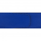Ceinture cuir grainé bleu roi 40 mm - Porto-fino mate
