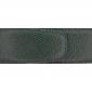 Ceinture cuir grainé vert foncé 40 mm - Roma mate