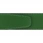 Ceinture cuir grainé vert 40 mm - Milano canon fusil